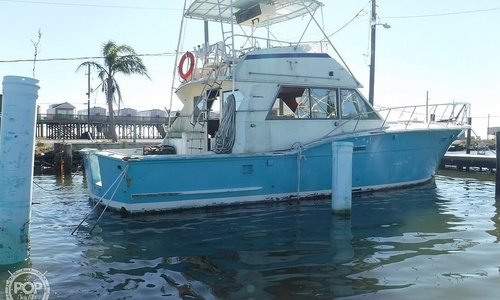Image of Hatteras 46 Convertible for sale in United States of America for $17,500 (£12,585) Buras, Louisiana, United States of America