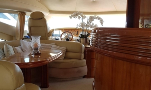 Image of Azimut Yachts 68 Plus for sale in Italy for €449,000 (£381,981) Liguria, Italy