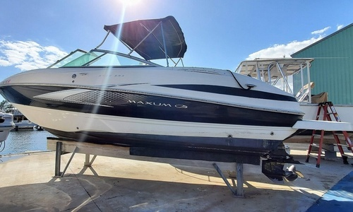 Image of Maxum 2400 SR3 for sale in United States of America for $15,950 (£11,366) Lantana, Florida, United States of America