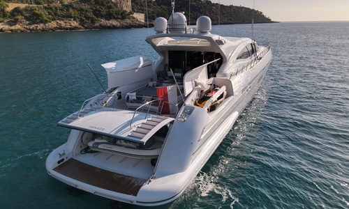 Image of Mangusta 108 for sale in France for £2,450,000 Cannes, France