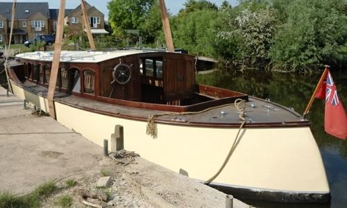 Image of 48ft ERNEST COLLINS BROADS CRUISER for sale in United Kingdom for £19,500 Cambridgeshire, United Kingdom
