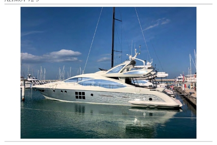 Azimut Yachts 72 S for sale in Italy for €1,200,000 (£1,068,462)