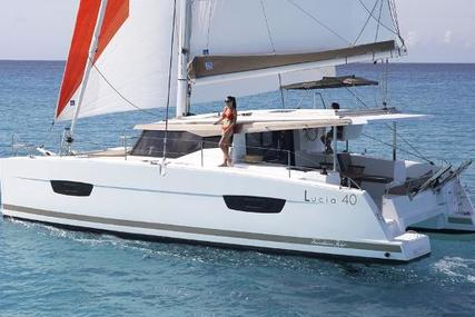 Fountaine Pajot Lucia 40 for sale in France for €372,000 (£321,380)