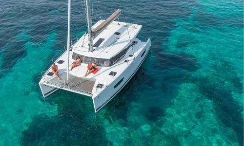 Image of Fountaine Pajot Lucia 40 for sale in France for €372,000 (£330,823) ex factory, France