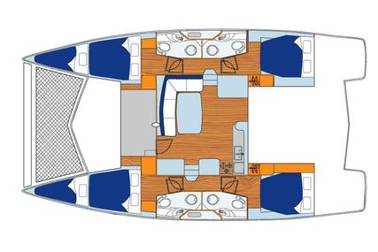 Leopard 44 for charter in Spain (Balearic Islands) from €3,900 / week