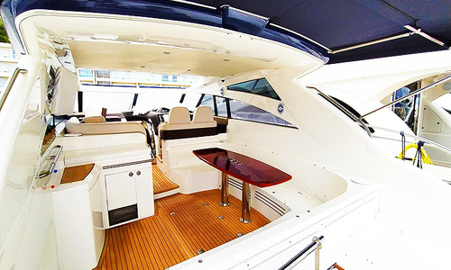 Image of Princess V58 for sale in Italy for €430,000 (£372,543) Italy
