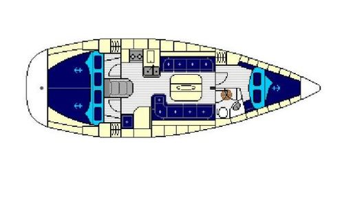 Image of Bavaria Yachts 37 Cruiser for sale in Greece for €57,200 (£49,589) Athens, Greece