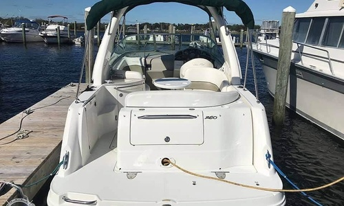 Image of Sea Ray 260 Sundancer for sale in United States of America for $42,500 (£30,735) Stonington, Connecticut, United States of America