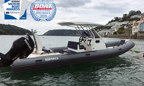 Image of Brig Eagle 8 - 2020 MULTI AWARD WINNER - ORCA Hypalon for sale in United Kingdom for £84,995 South West, United Kingdom