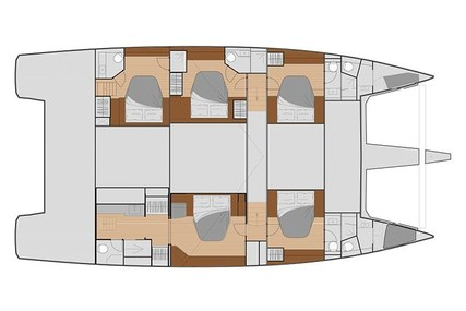 Fountaine Pajot Samana 59 for charter in Greece from €24,900 / week
