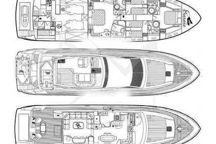 Ferretti 720 for sale in Greece for €560,000 (£484,295)