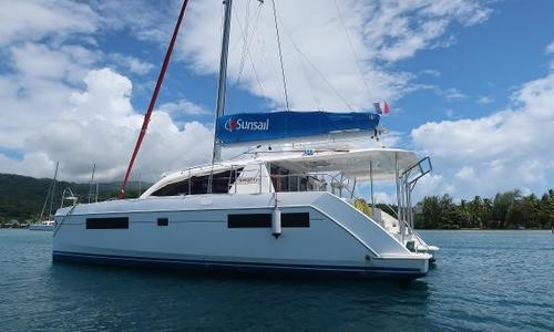 Image of Leopard 40 for sale in French Polynesia for €299,000 (£259,047) Raiatea, French Polynesia