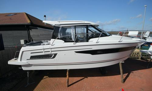 Image of Jeanneau Merry Fisher 895 for sale in United Kingdom for £129,862 Chichester, United Kingdom