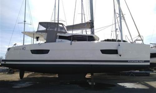 Image of Fountaine Pajot Lucia 40 for sale in France for €375,000 (£324,892) France