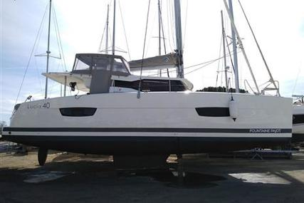 Fountaine Pajot Lucia 40 for sale in France for €375,000 (£323,332)