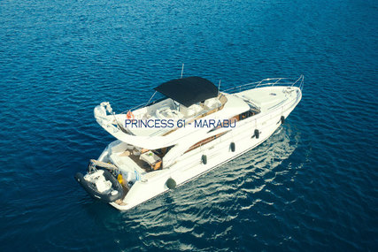 Princess 61 for charter in Greece from €12,500 / week