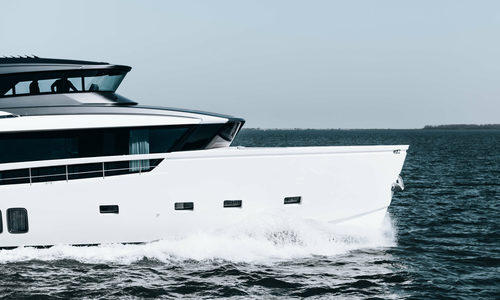 Image of Sanlorenzo SX76 M/Y Coco De Mer for sale in Netherlands for €4,450,000 (£3,758,065) Netherlands