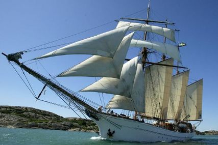 164ft TRADEWIND SCHOONER for sale in Sweden for £1,500,000