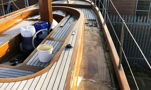 Image of 72ft CLASSIC STYLE SCHOONER for sale in United Kingdom for £125,000 ISLE OF WIGHT, United Kingdom