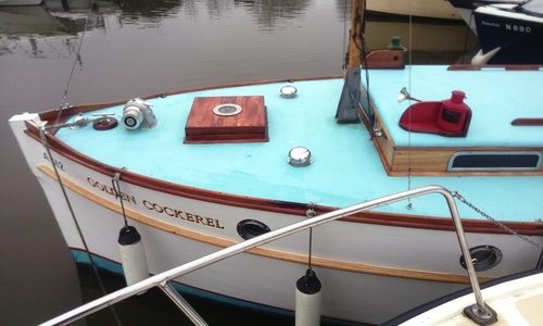 Image of 24ft. WILSON CLASSIC MOTOR CRUISER for sale in United Kingdom for £18,500 Southern Broads, United Kingdom