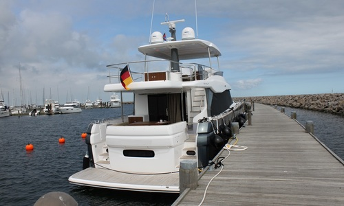 Image of Azimut Yachts Magellano 66 for sale in Germany for €1,890,000 (£1,615,992) Germany