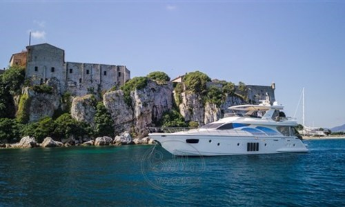 Image of Azimut Yachts 78 Flybridge for sale in France for €1,850,000 (£1,609,003) CANNES, France