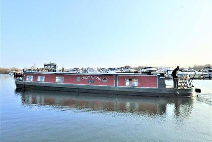 Wide Beam Narrowboat 60 x 11 Aqualine Canterbury for sale in United Kingdom for £94,950
