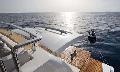 Image of Sanlorenzo SL106 M/Y Dinaia for sale in Netherlands for €7,450,000 (£6,382,359) Netherlands