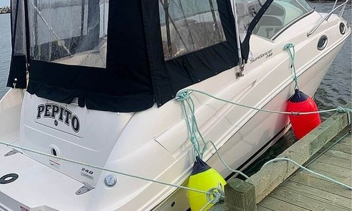 Image of Sea Ray 240 Sundancer for sale in Canada for $74,800 (£44,086) Digby, Nova Scotia, Canada