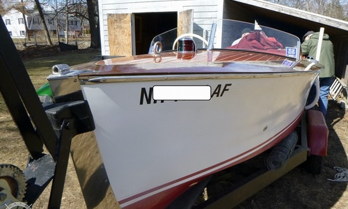 Image of Chris-Craft Special Runabout for sale in United States of America for $25,000 (£18,072) Dracut, Massachusetts, United States of America