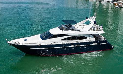 Image of Azimut Yachts 70 Sea-Jet for sale in United States of America for $699,000 (£500,896) Miami Beach, FL, United States of America
