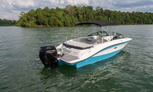 Image of Sea Ray 210 SPXE Outboard for sale in United Kingdom for £72,850 Boats.co., United Kingdom