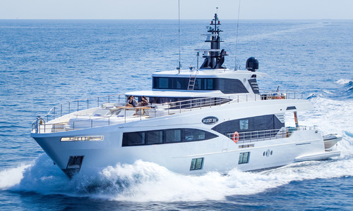 Image of Majesty Majesty 100 for sale in France for €5,600,000 (£4,870,497) Mediterranean southern , France