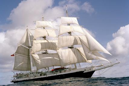 140ft THREE-MASTED BARQUE SAIL TRAINING TALL SHIP for sale in United Kingdom for £1,200,000