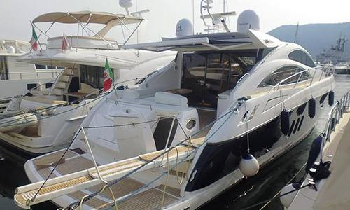 Image of Sunseeker Predator 62 for sale in Italy for €630,000 (£547,612) Sicily, Italy