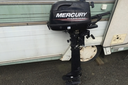 Mercury 4 hp Four Stroke Long shaft for sale in United Kingdom for £499