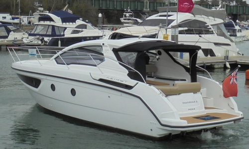 Image of Azimut Yachts Atlantis 34 for sale in United Kingdom for £249,950 Soon to be at the Hamble River Boat Yard, United Kingdom