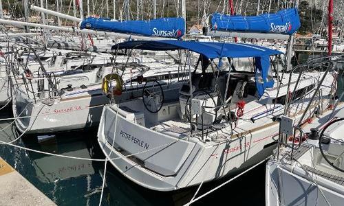 Image of Jeanneau Sun Odyssey 389 for sale in Croatia for €159,000 (£136,192) Dubrovnik, Croatia