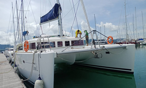 Image of Lagoon 450 for sale in Thailand for €350,000 (£303,154) Phuket, , Thailand