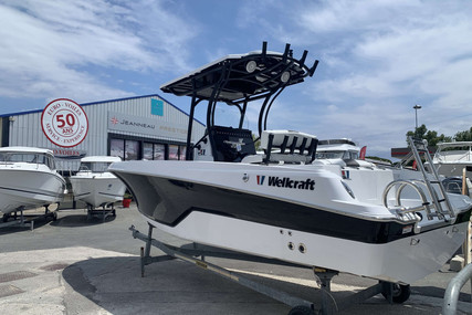 Wellcraft 222 Fisherman for sale in France for €59,000 (£50,819)