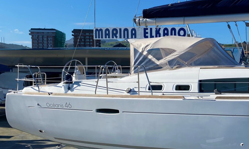 Image of Beneteau Oceanis 46 for sale in Mexico for €155,000 (£133,441) Zumaya, Mexico