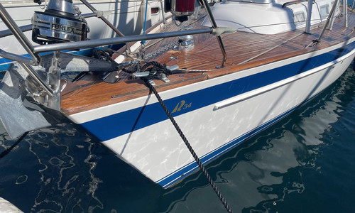 Image of Hallberg-Rassy 34 for sale in France for €80,000 (£69,310) Bormes-les-Mimosas, Bormes-les-Mimosas, , France