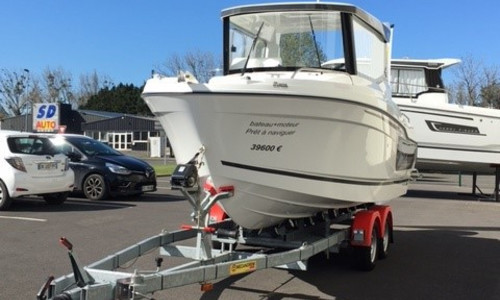 Image of Jeanneau Merry Fisher 605 Marlin for sale in France for €39,600 (£34,109) gRANVILLE, gRANVILLE, , France
