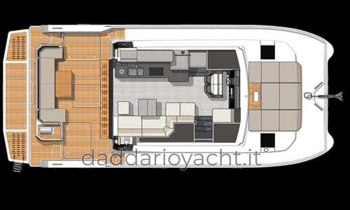 Image of Fountaine Pajot MY 4 S for sale in France for €397,000 (£343,863) France