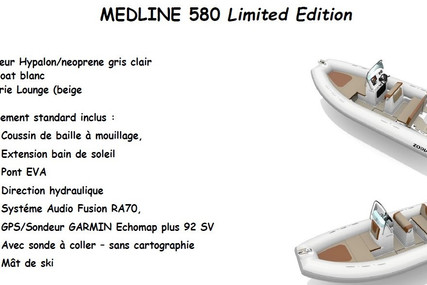 Zodiac MEDLINE 580 for sale in France for €38,500 (£33,347)