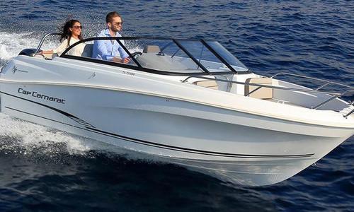 Image of Jeanneau Cap Camarat 5.5 BR for sale in Spain for €28,783 (£25,025) Spain