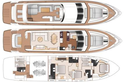 Princess 82 for sale in Denmark for kr26,500,000 (£3,067,925)