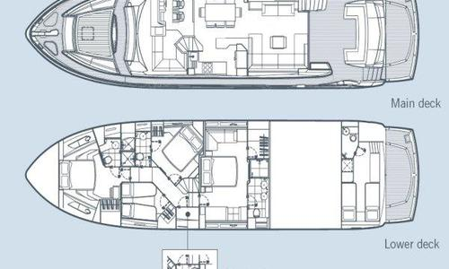 Image of Sunseeker Manhattan 73 for sale in Spain for £1,350,000 Mallorca, Spain