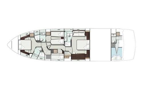 Image of Sunseeker Manhattan 65 for sale in United Kingdom for £1,389,000 Swanwick, United Kingdom