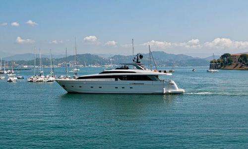 Image of Sanlorenzo SL104 REBESSA for sale in Italy for €3,995,000 (£3,409,256) La Spezia, Italy